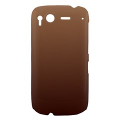 Chamoisee To Seal Brown Gradient HTC Desire S Hardshell Case