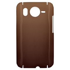 Chamoisee To Seal Brown Gradient HTC Desire HD Hardshell Case