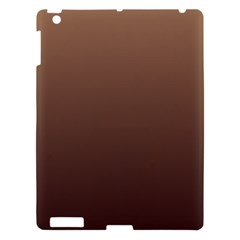 Chamoisee To Seal Brown Gradient Apple Ipad 3/4 Hardshell Case