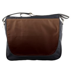 Chamoisee To Seal Brown Gradient Messenger Bag