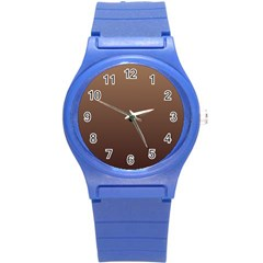 Chamoisee To Seal Brown Gradient Plastic Sport Watch (small)