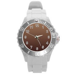 Chamoisee To Seal Brown Gradient Plastic Sport Watch (Large)