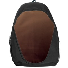 Chamoisee To Seal Brown Gradient Backpack Bag