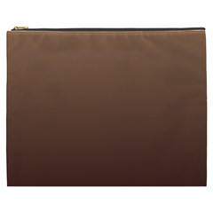 Chamoisee To Seal Brown Gradient Cosmetic Bag (xxxl)
