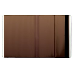 Chamoisee To Seal Brown Gradient Apple iPad 3/4 Flip Case