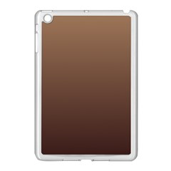 Chamoisee To Seal Brown Gradient Apple Ipad Mini Case (white)