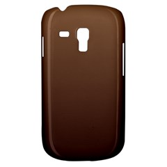 Chamoisee To Seal Brown Gradient Samsung Galaxy S3 MINI I8190 Hardshell Case