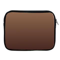 Chamoisee To Seal Brown Gradient Apple iPad 2/3/4 Zipper Case