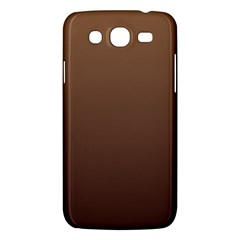 Chamoisee To Seal Brown Gradient Samsung Galaxy Mega 5.8 I9152 Hardshell Case