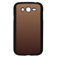Chamoisee To Seal Brown Gradient Samsung I9082(Galaxy Grand DUOS)(Black)