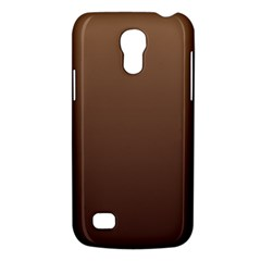 Chamoisee To Seal Brown Gradient Samsung Galaxy S4 Mini Hardshell Case