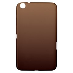 Chamoisee To Seal Brown Gradient Samsung Galaxy Tab 3 (8 ) T3100 Hardshell Case