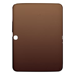 Chamoisee To Seal Brown Gradient Samsung Galaxy Tab 3 (10.1 ) P5200 Hardshell Case