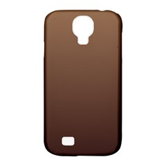 Chamoisee To Seal Brown Gradient Samsung Galaxy S4 Classic Hardshell Case (PC+Silicone)