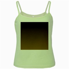 Seal Brown To Chamoisee Gradient Green Spaghetti Tank