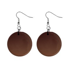 Seal Brown To Chamoisee Gradient Mini Button Earrings