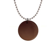 Seal Brown To Chamoisee Gradient Button Necklace