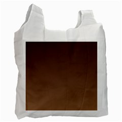 Seal Brown To Chamoisee Gradient Recycle Bag (Two Sides)
