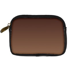 Seal Brown To Chamoisee Gradient Digital Camera Leather Case
