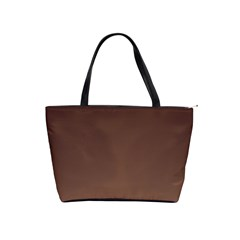 Seal Brown To Chamoisee Gradient Large Shoulder Bag
