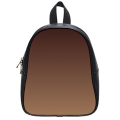 Seal Brown To Chamoisee Gradient School Bag (Small)