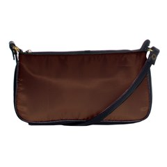 Seal Brown To Chamoisee Gradient Evening Bag