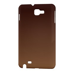 Seal Brown To Chamoisee Gradient Samsung Galaxy Note 1 Hardshell Case