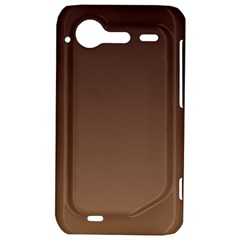 Seal Brown To Chamoisee Gradient HTC Incredible S Hardshell Case