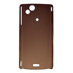 Seal Brown To Chamoisee Gradient Sony Xperia Arc Hardshell Case