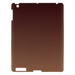 Seal Brown To Chamoisee Gradient Apple iPad 3/4 Hardshell Case