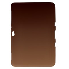 Seal Brown To Chamoisee Gradient Samsung Galaxy Tab 8.9  P7300 Hardshell Case