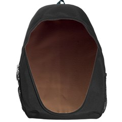 Seal Brown To Chamoisee Gradient Backpack Bag