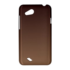 Seal Brown To Chamoisee Gradient HTC T328D (Desire VC) Hardshell Case