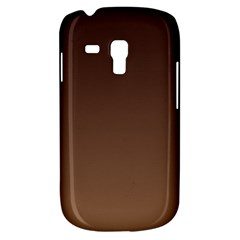 Seal Brown To Chamoisee Gradient Samsung Galaxy S3 MINI I8190 Hardshell Case