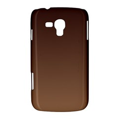 Seal Brown To Chamoisee Gradient Samsung Galaxy Duos I8262 Hardshell Case