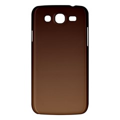 Seal Brown To Chamoisee Gradient Samsung Galaxy Mega 5.8 I9152 Hardshell Case