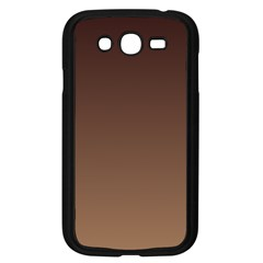 Seal Brown To Chamoisee Gradient Samsung I9082(Galaxy Grand DUOS)(Black)