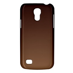 Seal Brown To Chamoisee Gradient Samsung Galaxy S4 Mini Hardshell Case