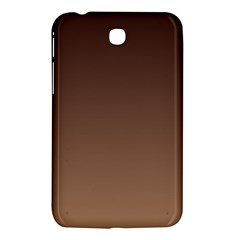 Seal Brown To Chamoisee Gradient Samsung Galaxy Tab 3 (7 ) P3200 Hardshell Case