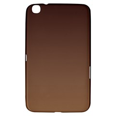 Seal Brown To Chamoisee Gradient Samsung Galaxy Tab 3 (8 ) T3100 Hardshell Case