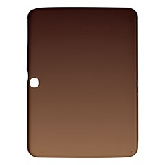 Seal Brown To Chamoisee Gradient Samsung Galaxy Tab 3 (10.1 ) P5200 Hardshell Case