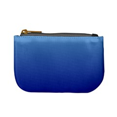 Baby Blue To Navy Blue Gradient Coin Change Purse