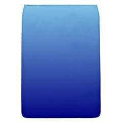 Baby Blue To Navy Blue Gradient Removable Flap Cover (Small)