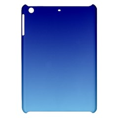 Navy Blue To Baby Blue Gradient Apple iPad Mini Hardshell Case