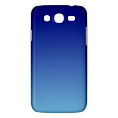 Navy Blue To Baby Blue Gradient Samsung Galaxy Mega 5.8 I9152 Hardshell Case
