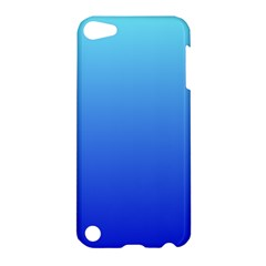 Electric Blue To Medium Blue Gradient Apple Ipod Touch 5 Hardshell Case