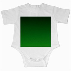 Dark Green To Green Gradient Infant Creeper