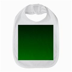 Dark Green To Green Gradient Bib