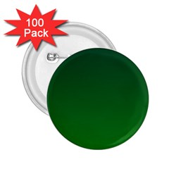 Dark Green To Green Gradient 2.25  Button (100 pack)