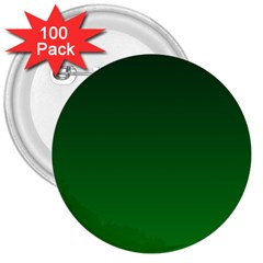 Dark Green To Green Gradient 3  Button (100 pack)